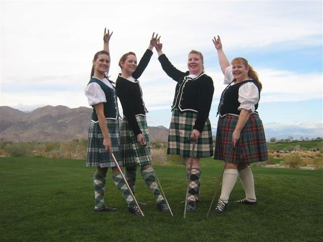 highland-dancers